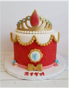 "Jessica Edwards on Instagram: ""An Elena of Avalor inspired cake. #cakestagram #cake #yxe #instacake"""
