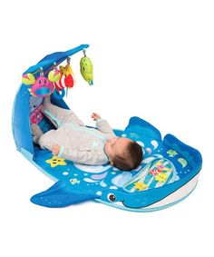 Love this Wonder Whale Kicks & Giggles Gym by Infantino on #zulily! #zulilyfinds