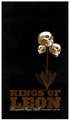 Kings Of Leon by FarmBarn Art Co.