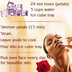 How to use rose water on face