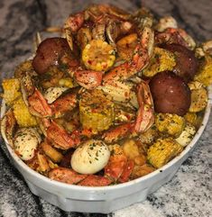 Bewitching Is Junk Food To Be Blamed Ideas. Unbelievable Is Junk Food To Be Blamed Ideas. Seafood Boil Recipes, Seafood Dishes, Cajun Seafood Boil, Crab Boil, Shrimp Recipes, Nutella, Boiled Food, Cooking Recipes, Healthy Recipes