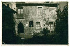 La casa-studio di Luigi Varoli in una foto del 1933