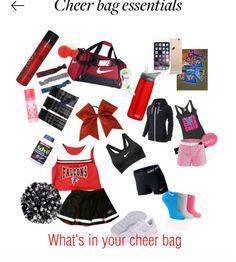 Cheer bag essentials