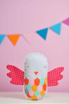 baby bird rattle | Pinknounou blog
