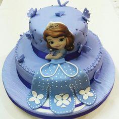 "Fondant cake ""Princesita Sofía"".Por: Judith Tortas. Vzla."
