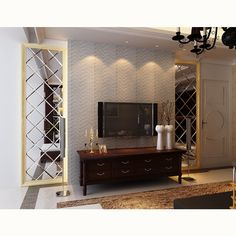 Soft leather wall panels 3d home decorative wallpaper