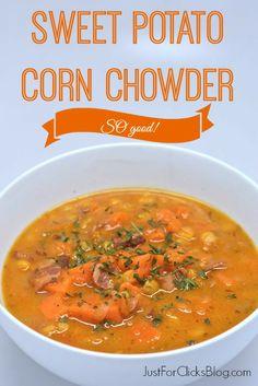 Sweet Potato Corn Chowder  