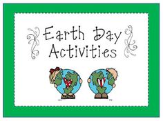 earth day...1st grade or 2nd grade