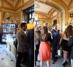 merci gaspard ! Tranches de Vie napolitaine au Caffè Gambrinus à Naples Photo merci gaspard juin 2014