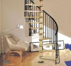 Escaleras para espacios peque os de cemento buscar con for Escaleras ligeras
