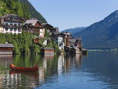 Lake Hallstatt, Austria   Hallstatter Lake, Hallstatt, Austria - hqworld.net - high quality ...