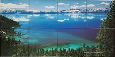 PHOTO TILE MURAL, Picture Printed on Ceramic Tiles for Kitchen Backsplash Mural - stain resistant and washable, sutiable for kitchens, bath, restaurant, commercial and residential, by Custom Tiles, LLC