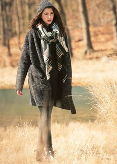 Look By M Hooded Knit Coatigan ..................... #lookbym #fall #winter #collections #coatigan #cardigan #hoodie #knit #sweater #plaid #scarves #scarf #plaidscarves #trendy #ootd #transitional #coldweather #outfits #dailylooks #howto #style #trendy #fashion #looks #musthave #fallfashion #outerwear