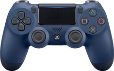 Best Buy: Geek Squad Certified Refurbished DualShock 4 Wireless Controller for Sony PlayStation 4 Midnight Blue GSRF 3002840 Playstation, Usb, Sony, Mundo Dos Games, Bluetooth, Audio, Geek Squad, Ps4 Controller, La Galaxy