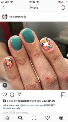 Images Of Nail Designs. Nail patterns or nail art is certainly a hassle-free practice - styles or art that is utilized to beautify the finger or toe nails. Spring Nail Art, Nail Designs Spring, Toe Nail Designs, Spring Nails, Nails Design, Design Design, Spring Design, Summer Nails, Fancy Nails