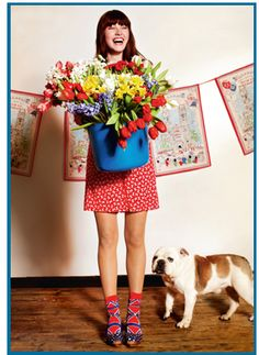 Cath Kidston...because she's fab!!!