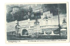 AK Photo Postkarte Königsberg Schloßterrasse Friedrich Wilhelm Kaliningrad 1917