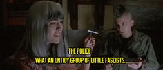 Discover & share this Punk GIF with everyone you know. GIPHY is how you search, share, discover, and create GIFs. Slc Punk, Punk Quotes, Movie Quotes, Political Articles, Democratic Socialist, Waiting For Someone, Google Images, Movie Tv, The Originals