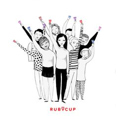 Let's grow by lifting each other up. For every Ruby Cup you buy, we'll donate another one to a girl in need. http://rubycup.com/menstrual-health-day-2017/