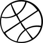 Free SVG Files – Basketball and Basketball Jersey