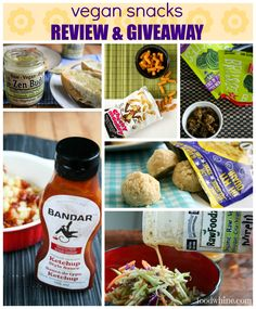 Vegan Snacks Review & Giveaway