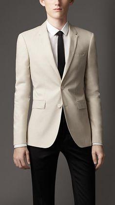 Burberry London Modern Fit Cotton Jacket