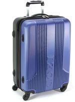 suitcase-izod suitcase 24 voyager 20 rolling hardside spinner expandable upright