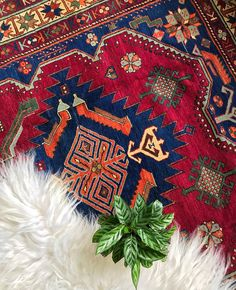 This Caucasian beauty from Dagestan - all that dark pink and navy goodness 😻 I have no words to describe the colors! The deep pink… Dark Carpet, Words To Describe, Persian Carpet, Carpet Runner, Home Deco, Bohemian Rug, Bloom, Rugs, Antiques