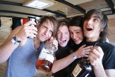 Andy Glass, Dave Stephens, Joshua Moore, and Kyle Pavone // We Came As Romans