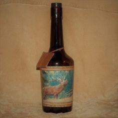 Fľaša pre poľovníka Jeleň v ruji