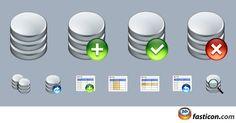 Free Icons: Database Icons
