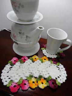 Toca do tricot e crochet: Coasters lindos !!!