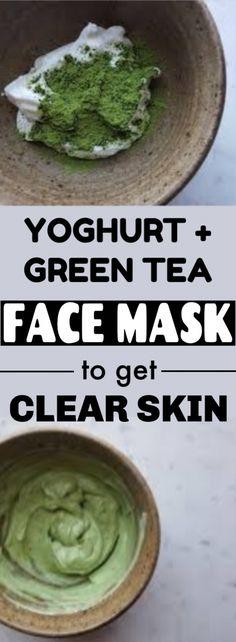 Green Tea Bag Yoghurt Facial Mask  #facemask #face #yoghurt #skincare #clearskin #KoreanSkincareMask #OrganicFaceMoisturizer Face Mask Peel Off, Face Mask For Pores, Acne Face Mask, Charcoal Mask Benefits, Charcoal Face Mask, Cucumber Face Mask, Green Tea Face, Eating Organic, Homemade Face Masks