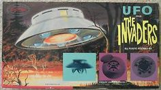 Aurora - The Invaders - TV series - Flying saucer - original 1960's