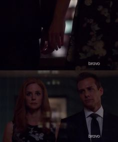 Donna: You want to be alone?  Harvey: NO   This moment was SOOO EMOTIONAL ❤️❤️❤️
