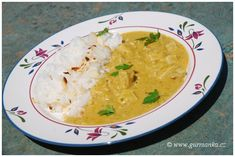 Indická korma – jídlo co pohladí žaludek Vindaloo, Korma, Curry, Ethnic Recipes, India, Food, Curries, Goa India, Essen