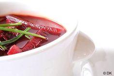Borscht with Kvas (Beetroot Soup)