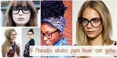 Cinco peinados perfectos para llevar con gafas graduadas Ray Ban