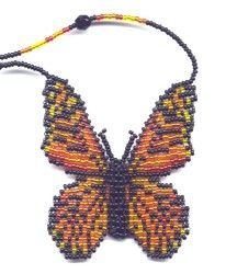 3D Monarch Butterfly : Beading Patterns and kits by Dragon!, The art of beading.