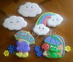 Ines Style Cakes:  It's raining.......