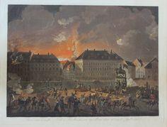 """""""Den rædsomste Nat i Kiöbenhavn imellem den 4. og 5. Sept 1807"""". Af Christian August Lorentzen."""