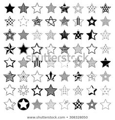 Find Pentagonal five point star collection of thirty six emblem icon design elements, vector template set Stock Images in HD and millions of other royalty-free stock photos, illustrations, and vectors in the Shutterstock collection. Small Star Tattoos, Mini Tattoos, Kritzelei Tattoo, Tattoo Drawings, Boy Tattoos, Body Art Tattoos, Tattoo Estrela, Tatuaje Peter Pan, Alphabet Graffiti