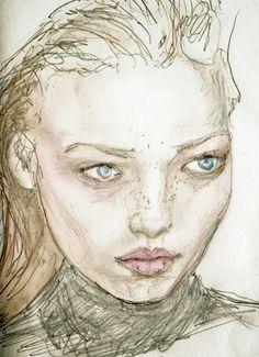 Polina Kouklina - Study Sketch