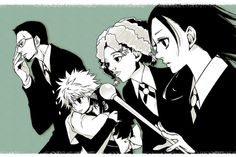 Zoldyck family Hunter x Hunter