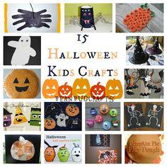 15 Halloween Kid Crafts - Bean Bug Crafts