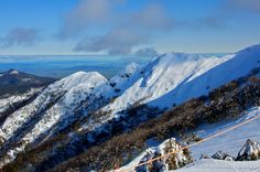 Mt Buller, VIC, Australia. Where my niece Jodie was married, only in the summer time at a great chapel.