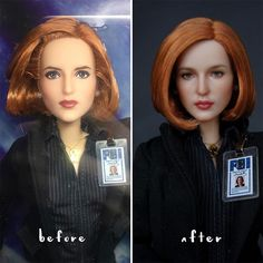 Artist, who specializes in doll modification, repainted dolls in a very realistic way. She brings them to life and the results are beyond amazing. Lifelike Dolls, Realistic Dolls, Realistic Paintings, Culture Art, Pink Cheeks, Doll Painting, Old Dolls, Doll Maker, Facon