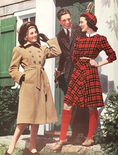 Sears catalogue ads in the 40s! tuppence hapenny vintage blog is a favourite!