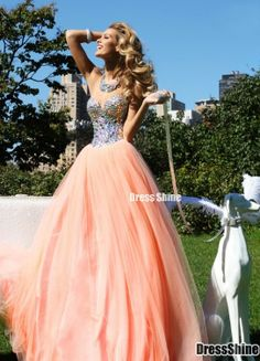 beautiful colors orange kinda peachy and sparkles!