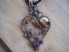 Tree Heart Pendant